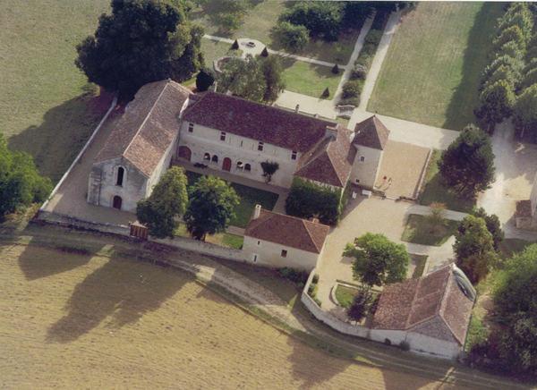 Crédits image : M. de Beauvais - vue aérienne de 1996