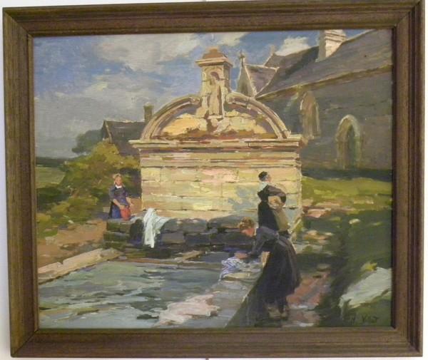 Journées du patrimoine 2020 - Exposition de peintures bretonnes / Musée d'Arts Charles Daniélou