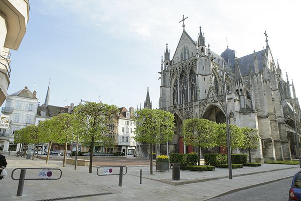 Crédits image : Basilique Saint-Urbain - Carole Bell, Ville de Troyes