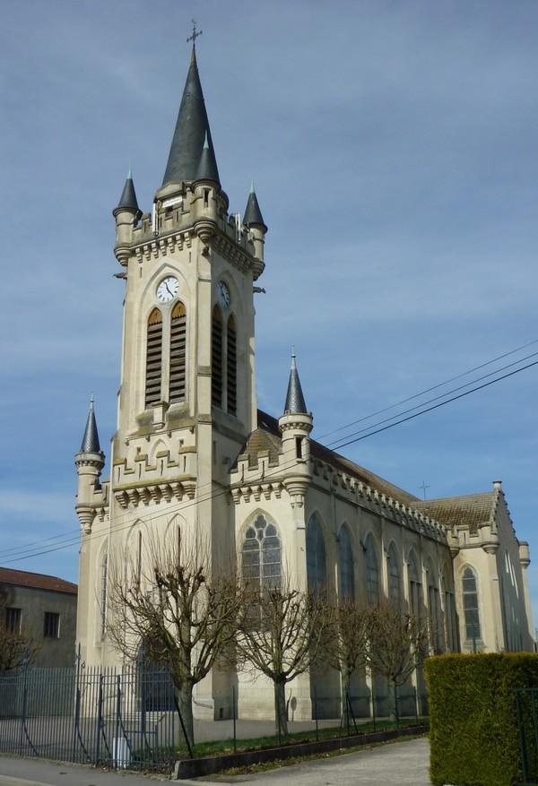 Crédits image : Ste Jeanne d'Arc Lunéville Cliché C. Guyon