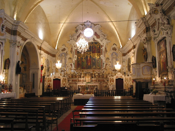 Journées du patrimoine 2019 - Visite audio guidée de l'église Sainte Marguerite de Lucéram