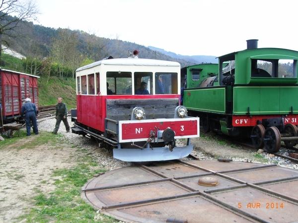 Journées du patrimoine 2017 - Visite commentée et exposition du matériel ferroviaire.
