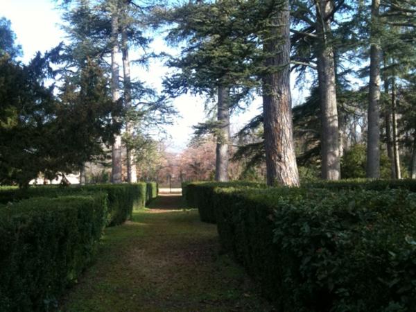 Parc du chateau de Bourgane