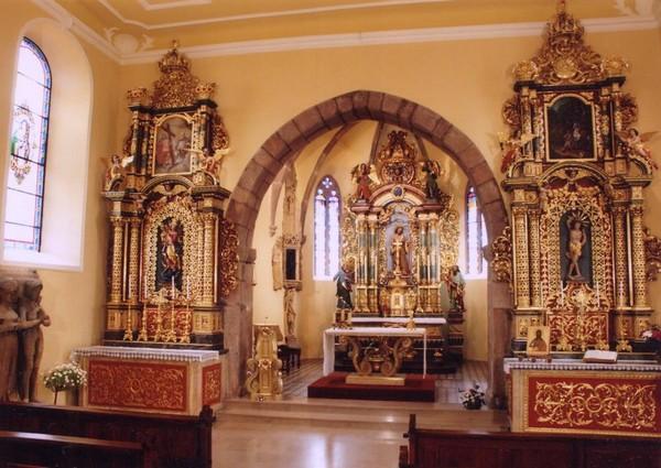 Crédits image : Chapelle Sainte-Catherine - Ville de Soultzbach-les-Bains