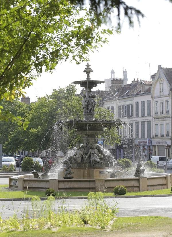 Crédits image : Fontaine Argence – Photographie : Carole Bell, Ville de Troyes
