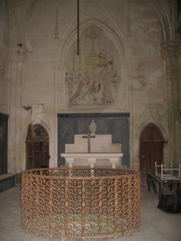 Crédits image : Chapelle funéraire © Jacques Brochard