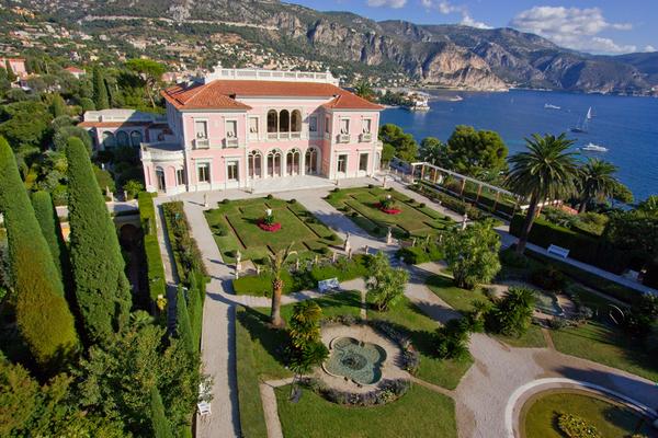Die Geheimnisse der Gärten der Villa Ephrussi