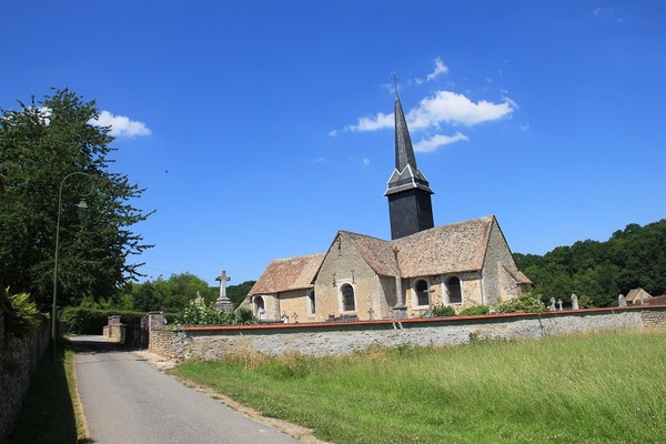 Journées du patrimoine 2018 - Visite libre de l'église St Pierre du Bas Houlbec