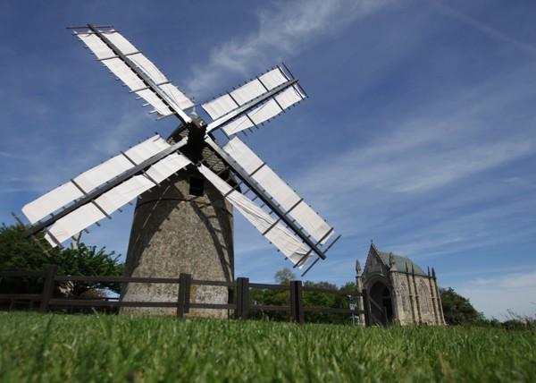 Journées du patrimoine 2017 - Moulin à vent du Mont des Alouettes.