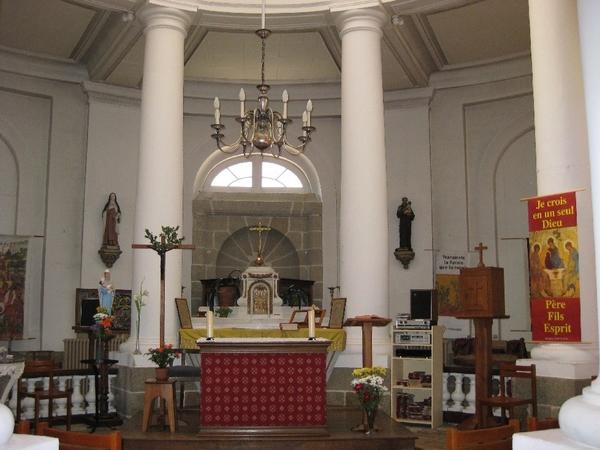 Journées du patrimoine 2017 - Visite libre de la chapelle du Centre Psychothérapique de l'Orne