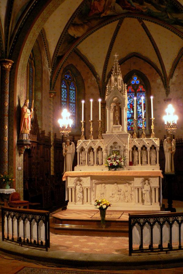 Journées du patrimoine 2019 - Visite libre de l'église de Preaux
