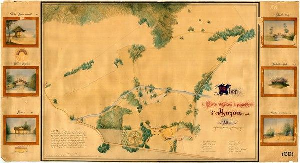 Journées du patrimoine 2017 - Auzon, un parc agricole et paysager à la mode de la Restauration