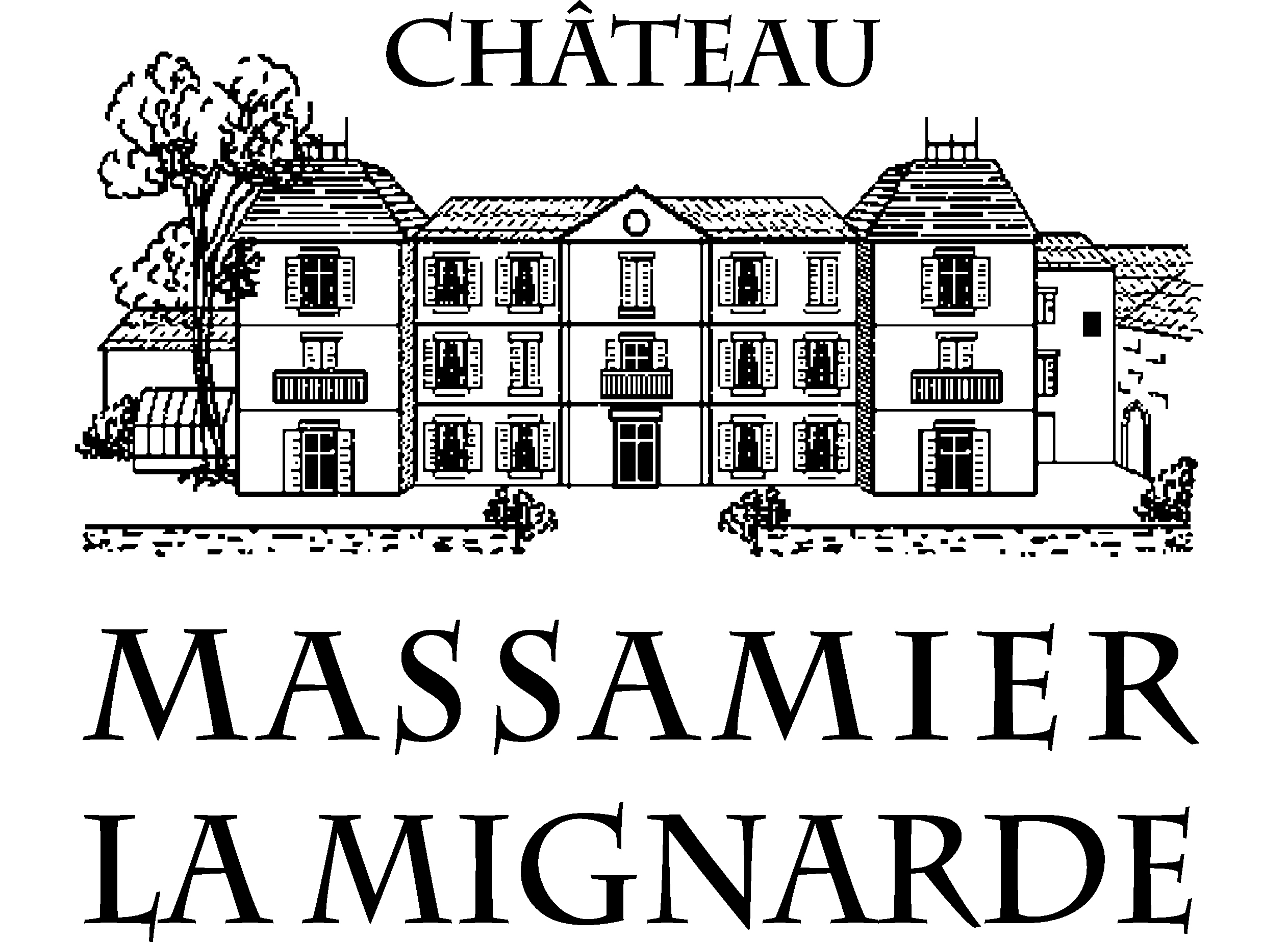 Parc du château Massamier La Mignarde