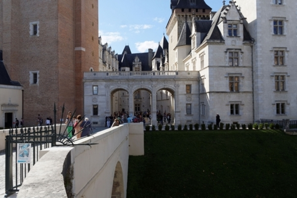 Crédits image : © Château de Pau - R.Samson Club