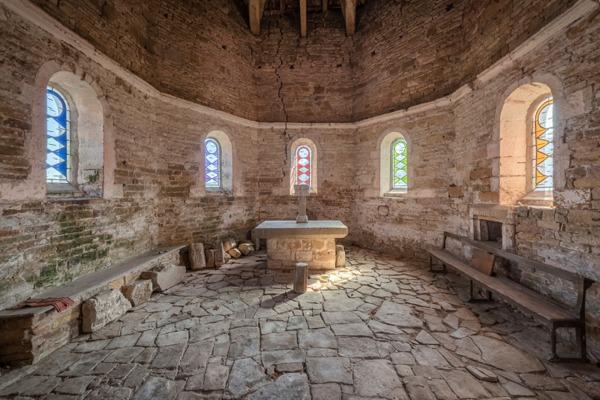 Crédits image : © Francis Meslet chapelle de la Commanderie Templière de Rugney