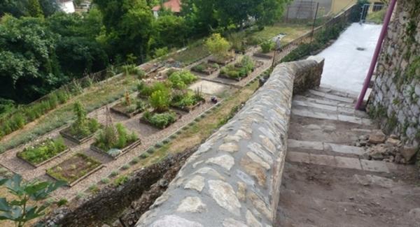 Rendez Vous aux Jardins 2018 -Jardin médiéval du prieuré de Monsempron
