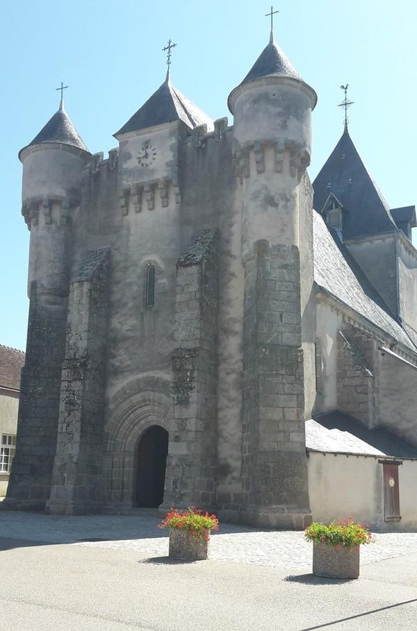 Journées du patrimoine 2017 - Seule église fortifiée de l'Indre