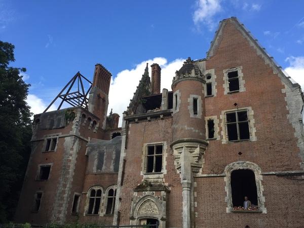 Journées du patrimoine 2017 - Splendeurs et déclins du Château de la Forêterie, à Allonnes