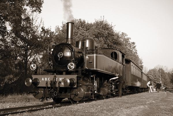 Crédits image : Locomotive 020+020T Henschel système Mallet, construite en 1911 à Kassel (RFA) en gare de Burnhaupt. Photo : Patrick Perrot