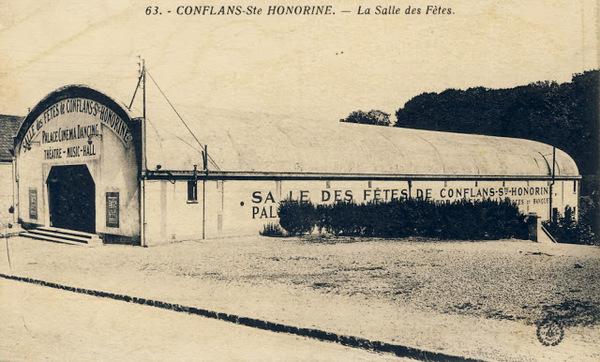 Journées du patrimoine 2018 - Anniversaire : les 90 ans de la salle de cinéma de Conflans-sainte-Honorine