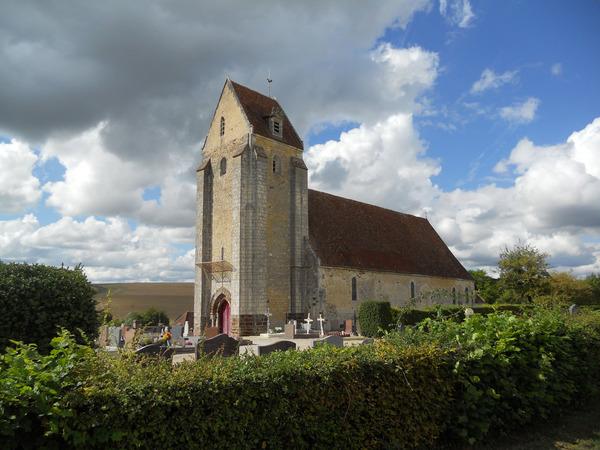Journées du patrimoine 2017 - Visite libre de l' église Sainte-Céronne-Lès-Mortagne