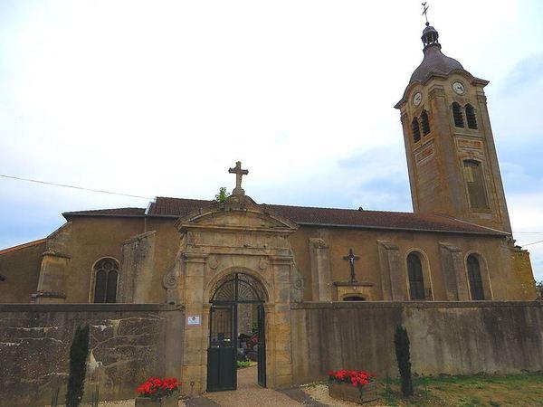 Crédits image : Billy-sous-Mangiennes - Eglise Saint-Loup (c) Aimelaime - commonswiki