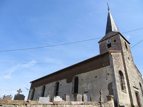 Crédits image : Bréhéville -Eglise Saint-Jean-Baptiste (c) Aimelaime - commonswiki