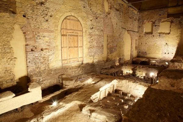 Journées du patrimoine 2019 - Thermes Gallo romain d'Entrammes
