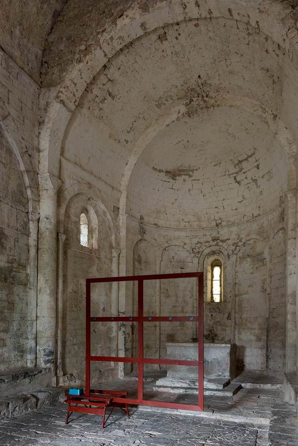 Journées du patrimoine 2017 - Eglise Saint-Etienne d'Issensac : performance IN SITU