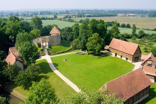 Crédits image : © château de Crèvecoeur-en-Auge
