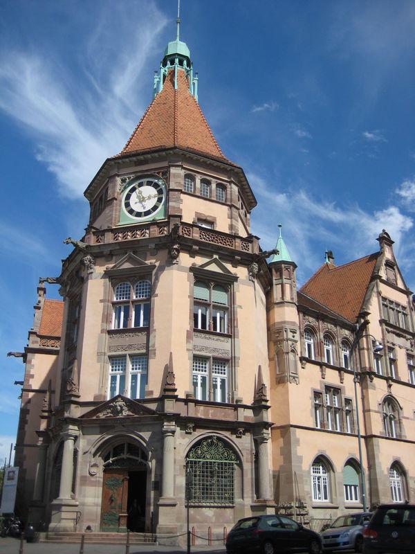 Crédits image : Tribunal d'instance - Ville de Mulhouse