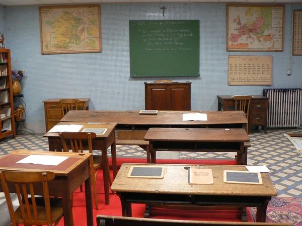 Journées du patrimoine 2017 - A la découverte de l'école d'autrefois au musée du collège Les Saints-Anges