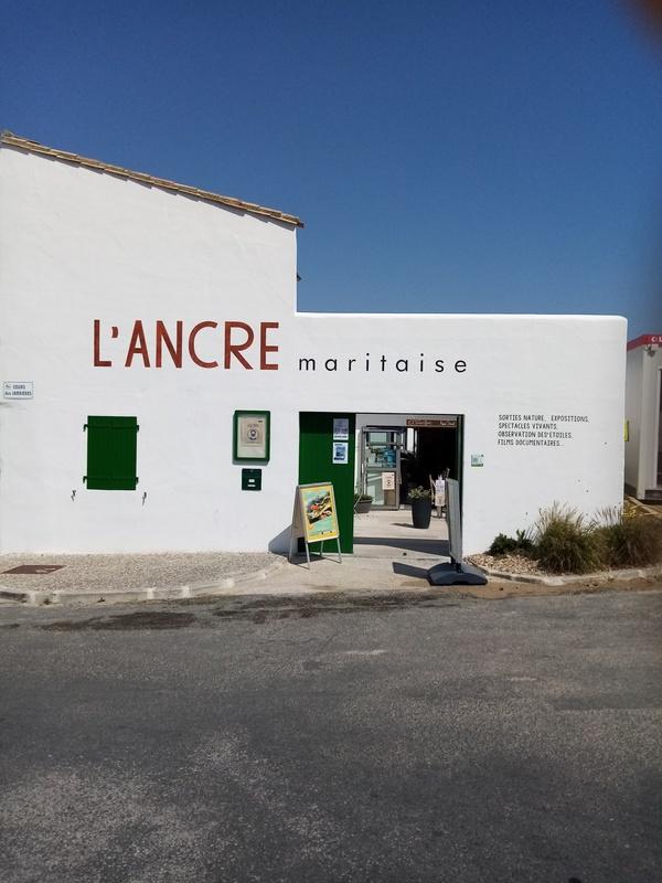 Crédits image : Sainte-Marie de Ré - ANCRE Maritaise © Ancre maritaise