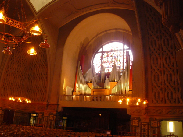 Journées du patrimoine 2020 - Visite de l'église Sainte-Jeanne d'Arc de Versailles et de son grand orgue
