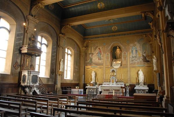 Crédits image : Chapelle de l'Hôpital - JM Charlot / Ville de Sedan