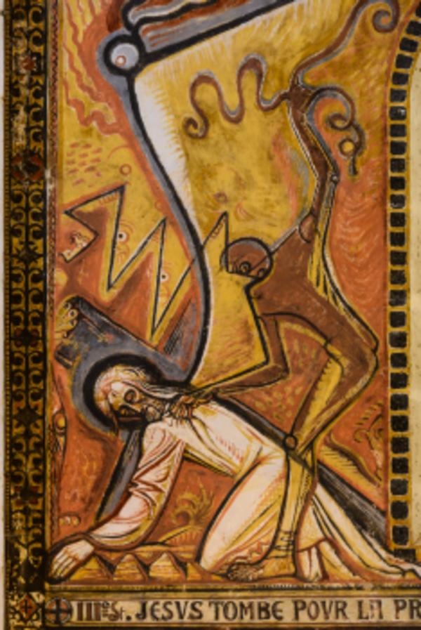 Crédits image : Le chemin de croix peint par Louis Mazetier © Stéphane Charbeau