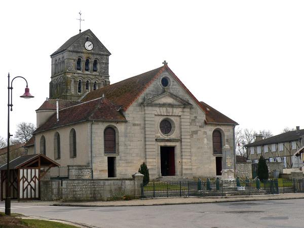 Crédits image : Église Saint-Luc © Office de tourisme St-Dizier Der et Blaise