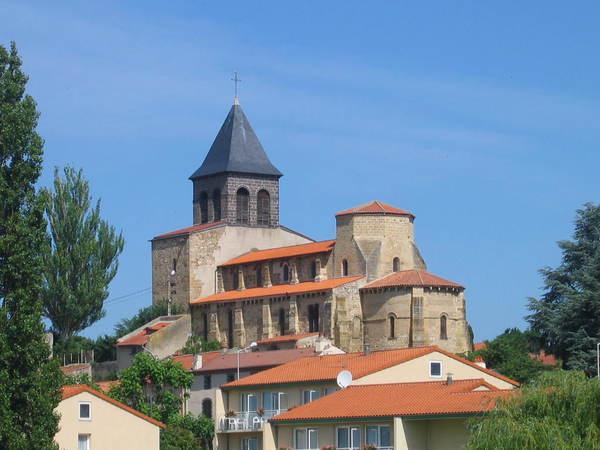 Crédits image : © Mairie de Pont-du-Château - Eglise Sainte-Martine