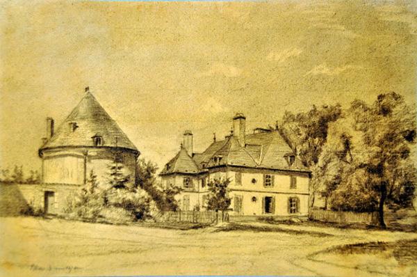 Crédits image : Le château en 1878 - (c) Brocbroc - wikimedia commons