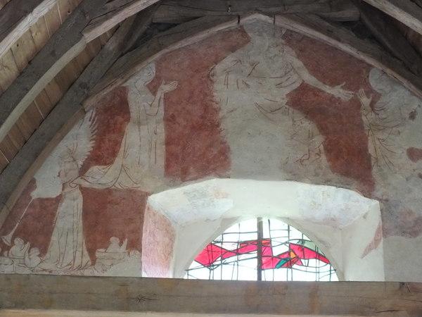 Journées du patrimoine 2017 - Découverte de la Chapelle St Léonard et de ses peintures médiévales