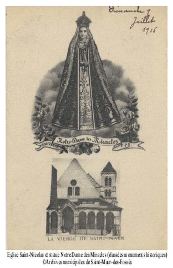 Journées du patrimoine 2017 - Circuit commenté de l'église Saint-Nicolas et du quartier du Vieux Saint-Maur