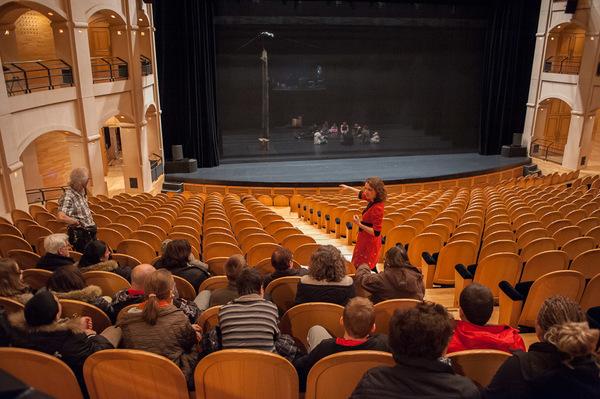 Journées du patrimoine 2018 - Visite guidée du théâtre et de ses coulisses.