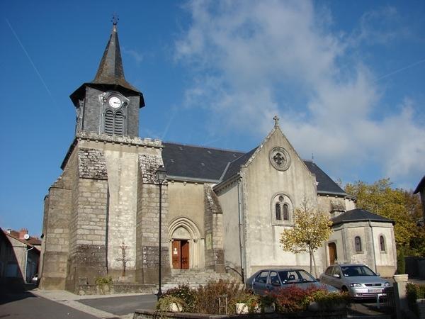 Crédits image : Eglise de Cieux © OT Haut Limousin