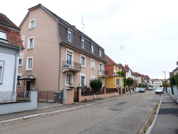 Crédits image : Strasbourg, vue rue Gallien © Région Grand Est - Inventaire général - photographie : Amandine Clodi