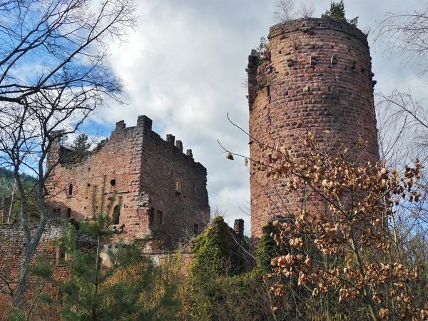Crédits image : Château de Rathsamhausen - © Association des amis du mont Sainte-Odile
