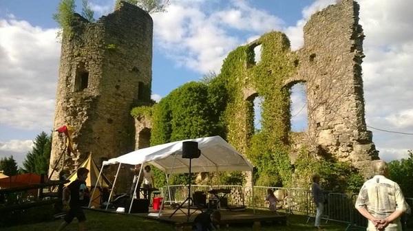 Crédits image : Château de Frauenberg - La tour de guet - (c) Daniel NAWROCKI