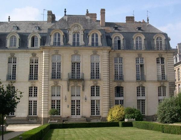 Journées du patrimoine 2017 - l'Hôtel de Blossac à Rennes