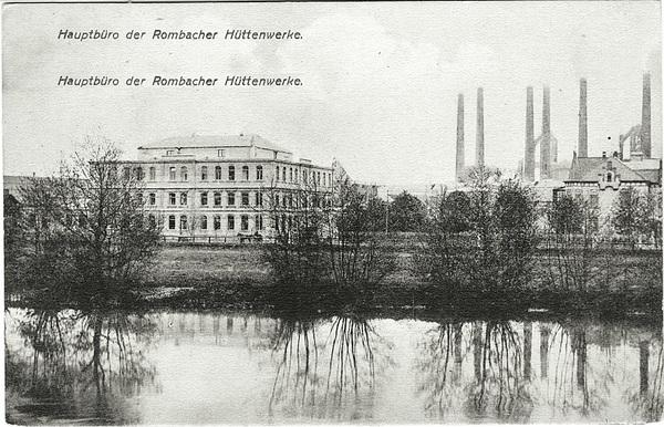 Crédits image : Rombas / Rombach - Bureau principal / Hauptbüro, daté 1916.