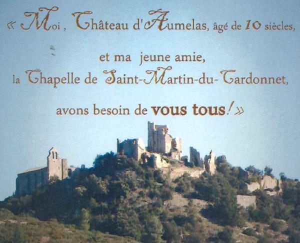 Journées du patrimoine 2017 - Château d'Aumelas