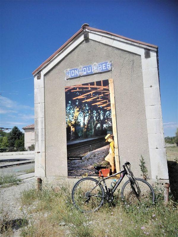 Crédits image : Office intercommunal de tourisme - Ancienne gare de Jonquières - Via Vénaissia